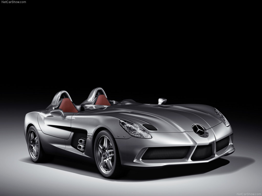 Mercedes Benz Mclaren SLR Stirling Moss 2009